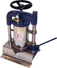 peterson filters booth pressure sample